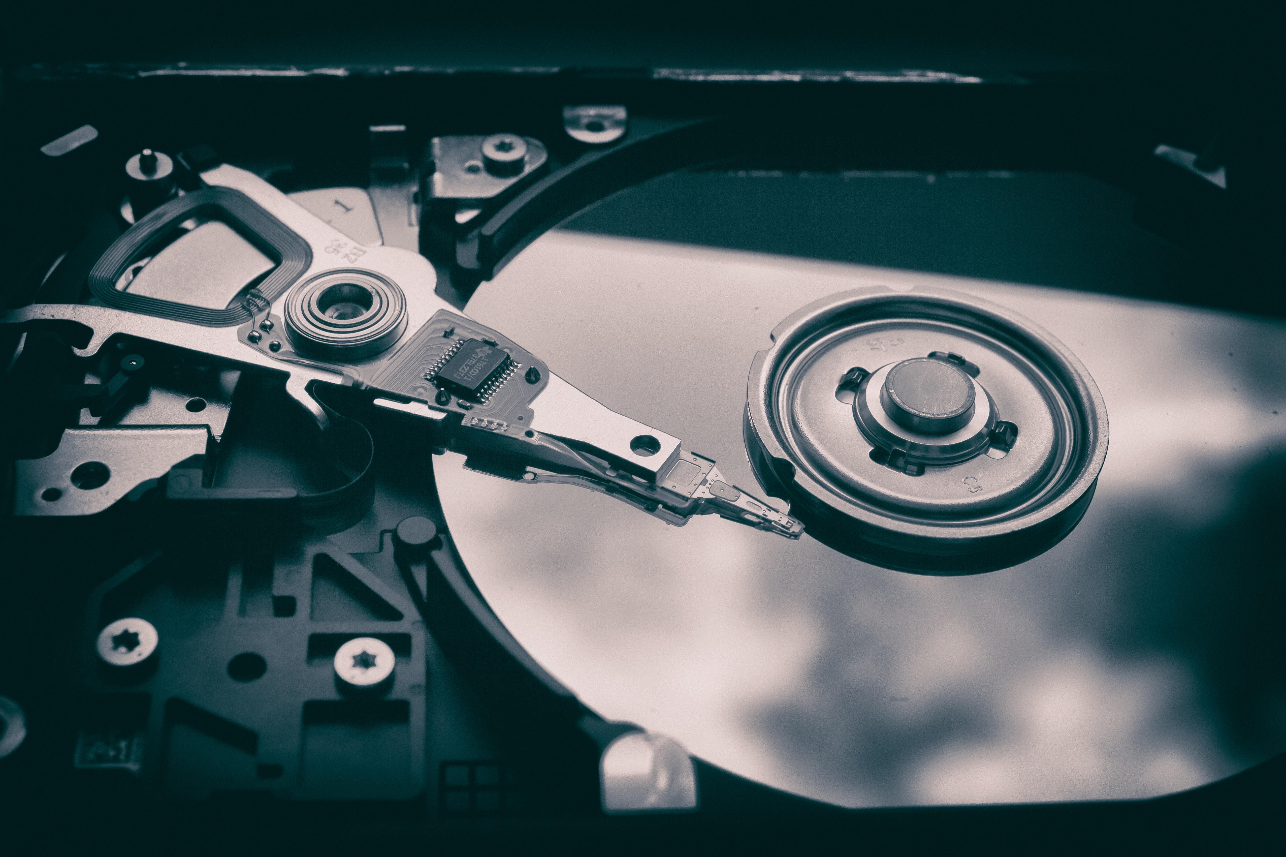 Daten, Festplatte